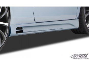 Накладки на пороги GT-Race от RDX Racedesign на VW Golf VI Wagon