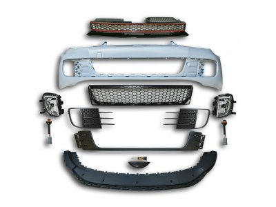 Бампер передний от JOM в стиле GTI на Volkswagen Golf VI