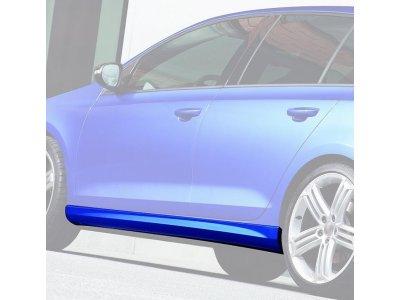 Накладки на пороги от JOM на Volkswagen Golf VI