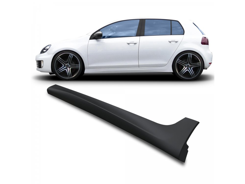 Накладки на пороги от JOM Votex Style на VW Golf VI