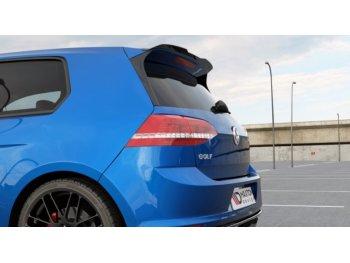 Сплиттер спойлера от Maxton Design на VW Golf VII R