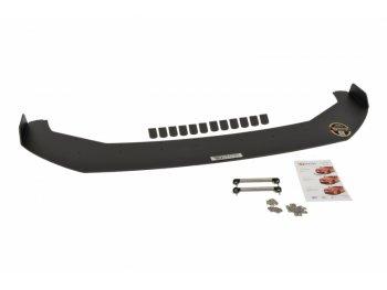 Накладка сплиттер переднего бампера от Maxton Design на VW Golf VII GTI
