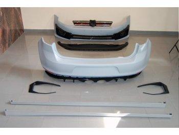Комплект обвеса от Eurolineas в стиле R400 Look на Volkswagen Golf VII
