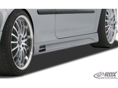 Накладки на пороги GT-Race от RDX Racedesign на VW Jetta V