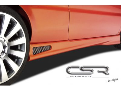 Накладки на пороги от CSR Automotive на VW Jetta V
