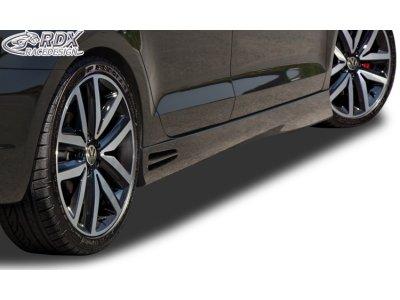 Накладки на пороги GT4 от RDX Racedesign на VW Jetta VI