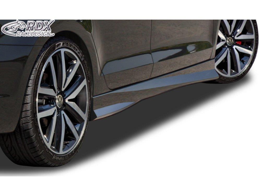 Накладки на пороги Turbo от RDX Racedesign на VW Jetta VI