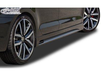 Накладки на пороги GT-Race от RDX Racedesign на VW Jetta VI