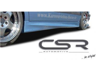 Накладки на пороги от CSR Automotive Var2 на VW Passat B4