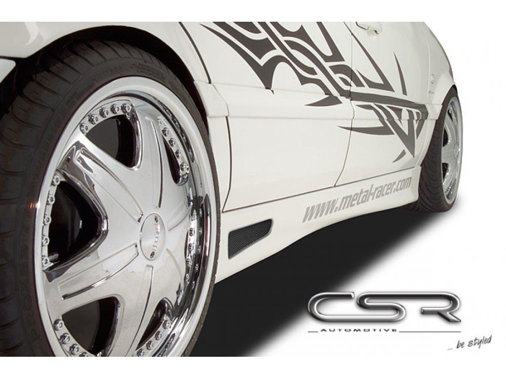 Накладки на пороги от CSR Automotive на VW Passat B4