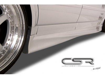 Накладки на пороги от CSR Automotive Var2 на VW Passat B5+ 3BG