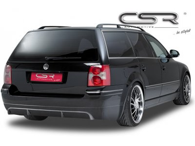 Накладка на задний бампер от CSR Automotive на VW Passat B5+ 3BG Wagon