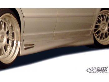 Накладки на пороги GT4 от RDX Racedesign на Volkswagen Passat B5 3B