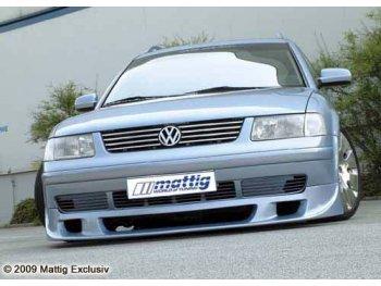Накладка на передний бампер от Mattig на Volkswagen Passat B5 3B