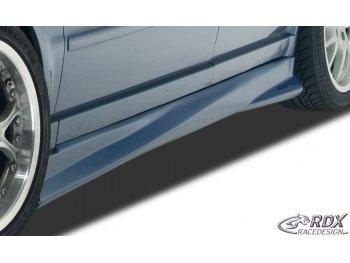 Накладки на пороги Turbo от RDX Racedesign на VW Passat B5 3B
