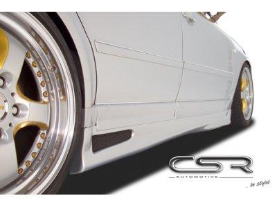 Накладки на пороги от CSR Automotive на VW Passat B5 3B