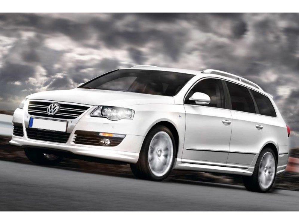 Накладки на пороги R-Line Look от Maxton Design на VW Passat B6 3C