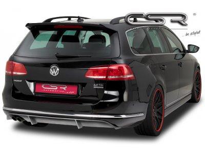 Накладка на задний бампер от CSR на Volkswagen Passat B7 Wagon