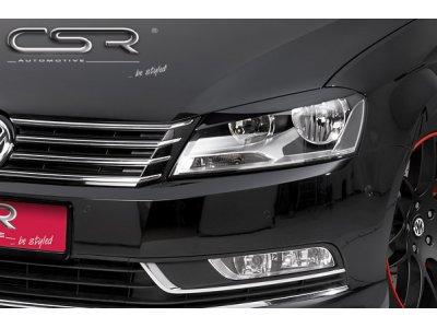 Реснички на фары от CSR Automotive на VW Passat B7