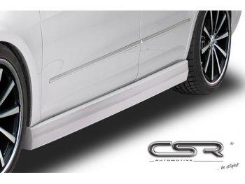 Накладки на пороги от CSR Automotive на Volkswagen Passat CC Coupe
