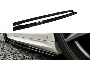 Сплиттеры порогов от Maxton Design на VW Passat CC R36 R-Line