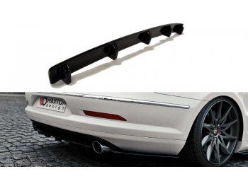 Сплиттер заднего бампера от Maxton Design Var2 на VW Passat CC R36 R-Line
