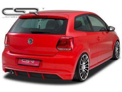 Накладка на задний бампер от CSR Automotive на VW Polo 6R Hatchback