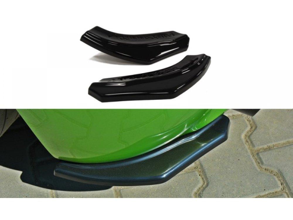 Боковые накладки сплиттеры на задний бампер от Maxton Design на VW Scirocco III R