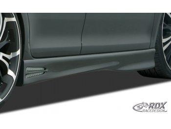 Накладки на пороги GT4 от RDX Racedesign на VW Scirocco III