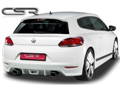 Накладка на задний бампер от CSR Automotive на Volkswagen Scirocco III Coupe