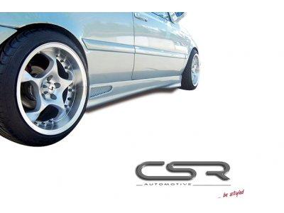 Накладки на пороги от CSR Automotive на VW Sharan I рестайл