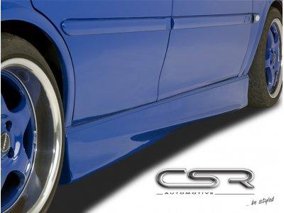Накладки на пороги от CSR Automotive Var2 на VW Sharan I рестайл