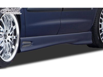 Накладки на пороги GT4 от RDX Racedesign на VW Sharan I рестайл