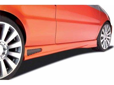 Накладки на пороги от Mattig на VW Sharan I рестайл