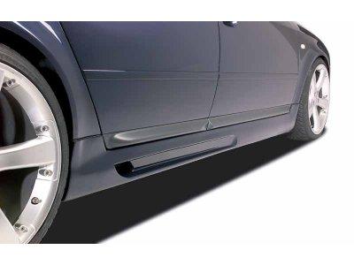 Накладки на пороги от Mattig V3 на VW Sharan I рестайл