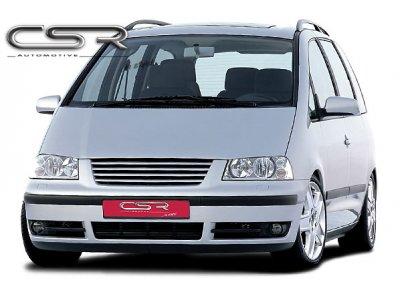 Расширитель капота от CSR Automotive на VW Sharan I рестайл