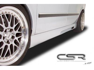 Накладки на пороги от CSR Automotive V3 на VW Sharan I рестайл