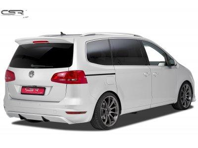 Накладка на задний бампер от CSR Automotive на VW Sharan II