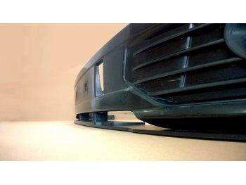 Накладка сплиттер переднего бампера от Maxton Design на VW T5