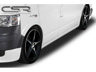 Накладки на пороги Var2 от CSR Automotive на VW T5