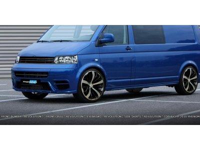 Накладки на пороги Revolution от Maxton Design на VW T5