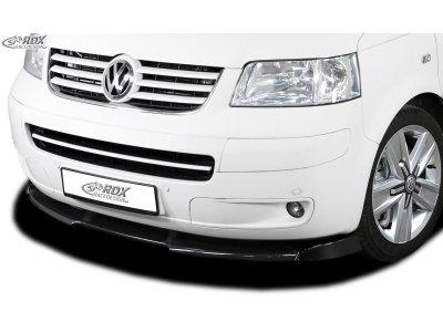 Накладка на передний бампер VARIO-X от RDX на VW Multivan T5