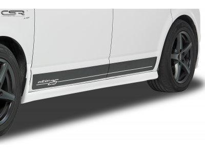Накладки на пороги V3 от CSR Automotive на VW T5