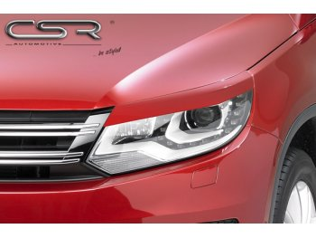 Реснички на фары от CSR Automotive на VW Tiguan рестайл
