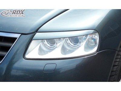 Реснички на фары от RDX Racedesign на VW Touareg I