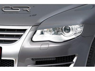 Реснички на фары от CSR Automotive на VW Touareg I рестайл
