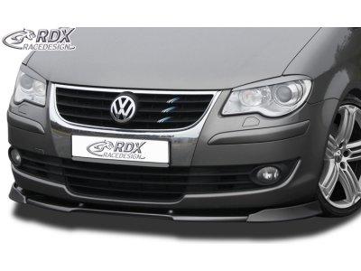 Накладка на передний бампер VARIO-X Var2 от RDX на VW Touran I