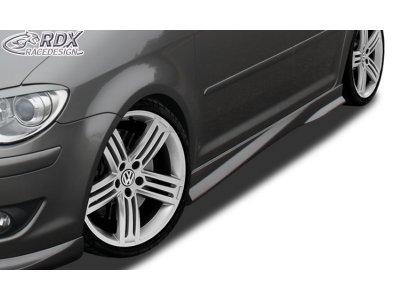 Накладки на пороги Turbo от RDX Racedesign на VW Touran I рестайл