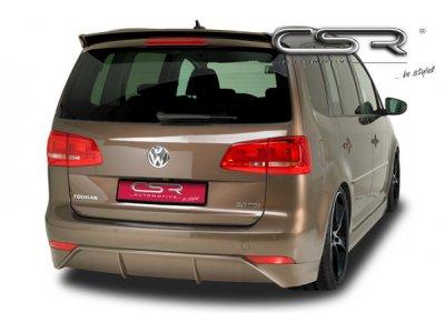 Накладка на задний бампер от CSR Automotive на VW Touran I рестайл