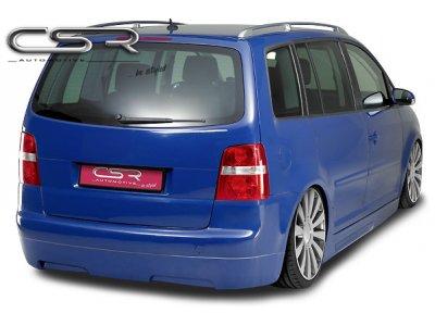 Накладка на задний бампер от CSR Automotive на VW Touran I